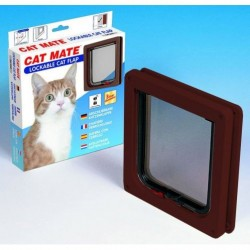 Cat Mate 304B Lockable Cat Flap - Brown