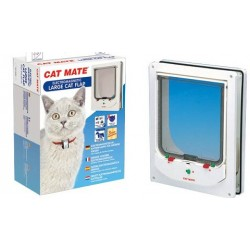 Cat Mate 256W Large Electromagnetic Cat Flap - White
