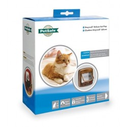 Staywell 420 Magnetic Cat Flap - Brown