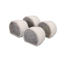 Drinkwell Ceramic Avalon and Pagoda Charcoal Filters - 4 pack