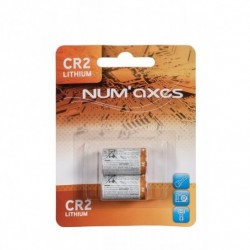NUMAXES CR2 Lithium Battery 3V (2pcs)