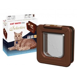 Cat Mate ELITE Selective Cat Flap - White