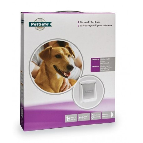 Staywell 740 Medium Pet Door - White