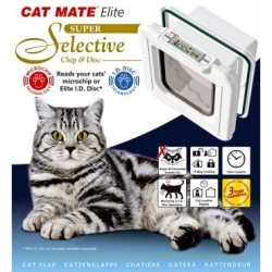 Cat Mate Elite Super Selective Microchip & Disc Cat Flap